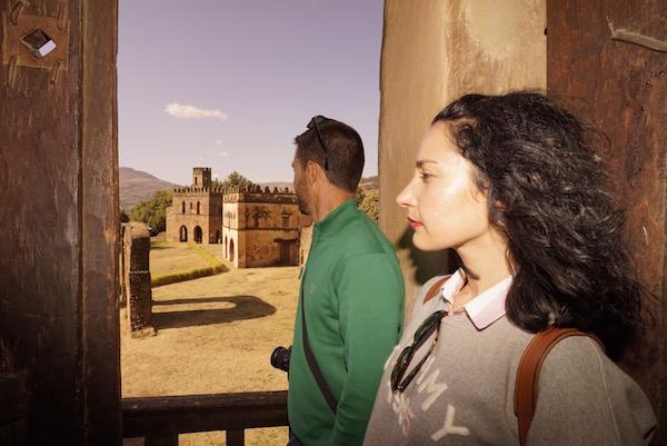 Vistas desde castillo de Fasilidas