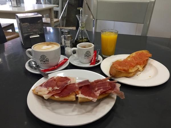 Desayuno El Portal
