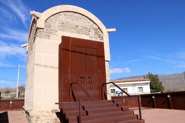 Entrada Mausoleo Romano