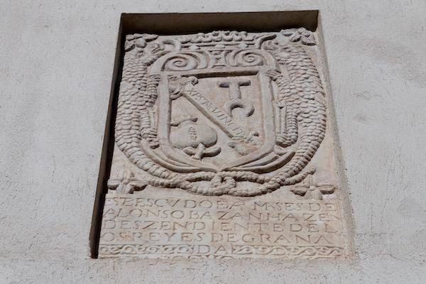 Escudo de Armas de Alonso de Bazán