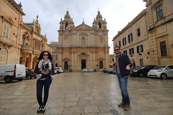 Fachada Catedral San Pablo, Mdina