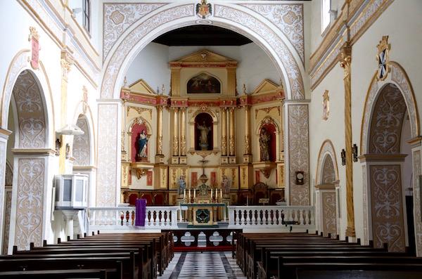 Interior Iglesia Anunciación