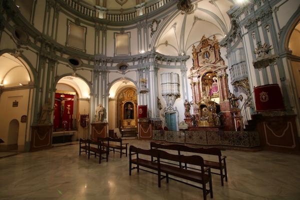 Interior Iglesia San Juan de Dios
