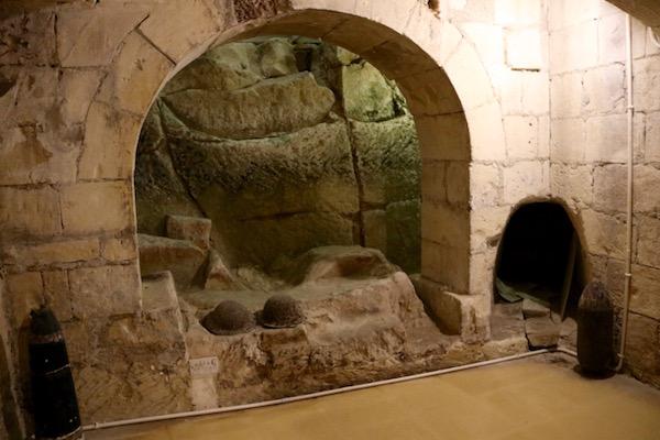 Interior Refugio Antiaereo