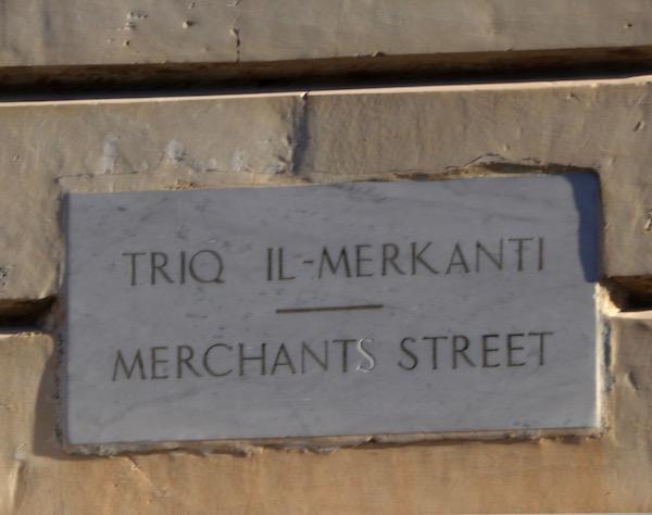 Placa Calle Merchants
