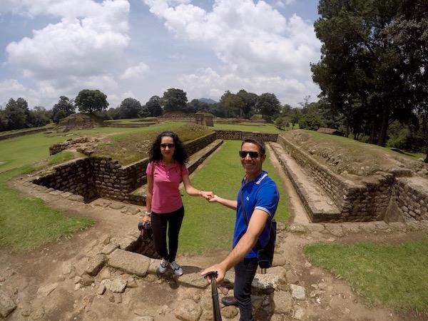Campo de Juegos de Pelotas, Iximché.