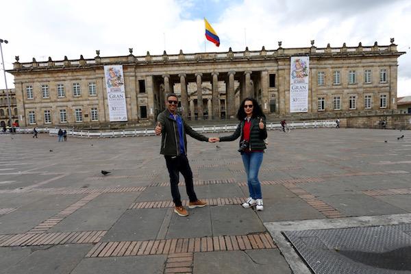 Capitolio Nacional, Bogotá.