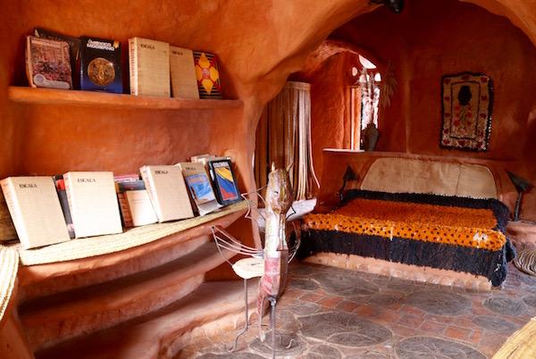 Dormitorio, casa Terracota.