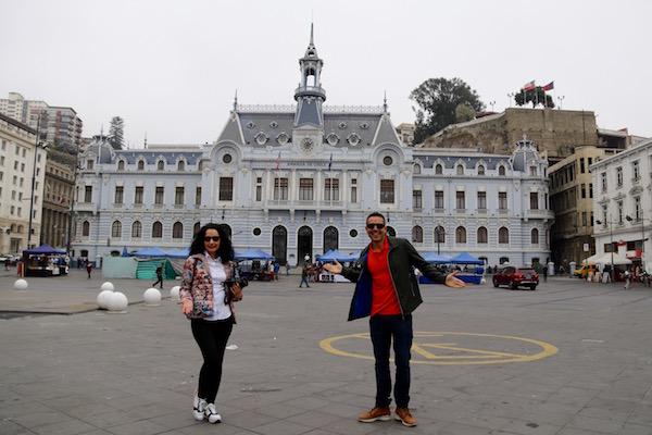 Edificio Armada de Chile, Valparaíso.