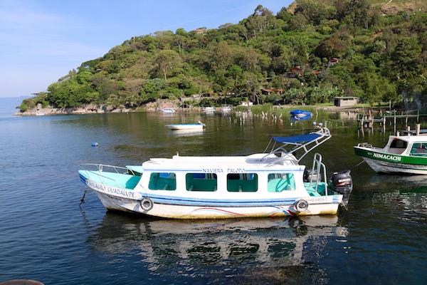 Embarcaciones Lago Atitlán.