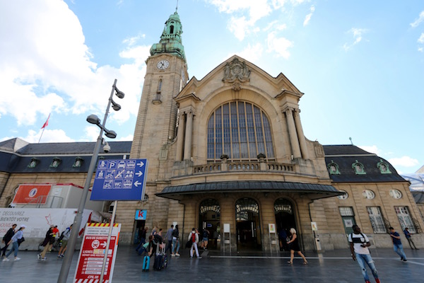 Estación de Luxemburgo Gare Centrale.