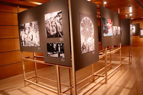 Exposición de fotografías, museo City Lëtzebuerg.