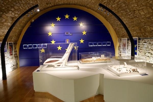 Exposición museo City Lëtzebuerg.