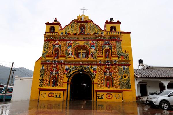 Iglesia deSan Andrés Xecul.