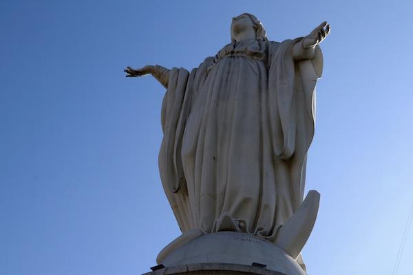 Imagen de la Inmaculada Concepción.