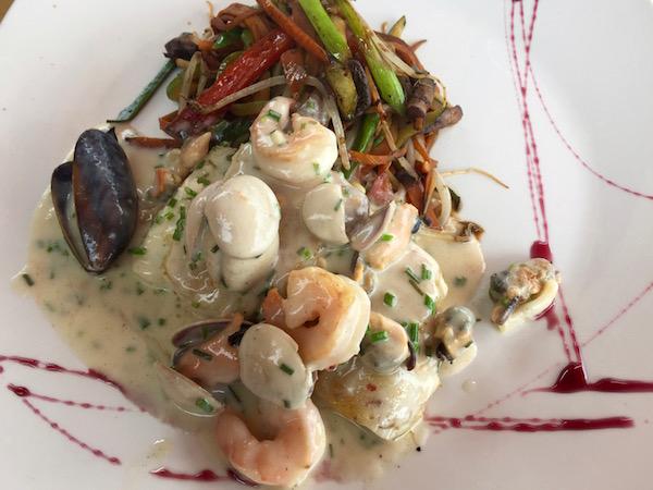 Merluza, restaurante Oda Pacífico Mirador Culinario.