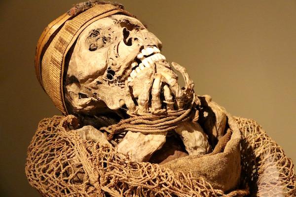 Momia de un cacique.