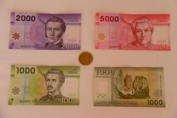 Moneda Peso Chileno.