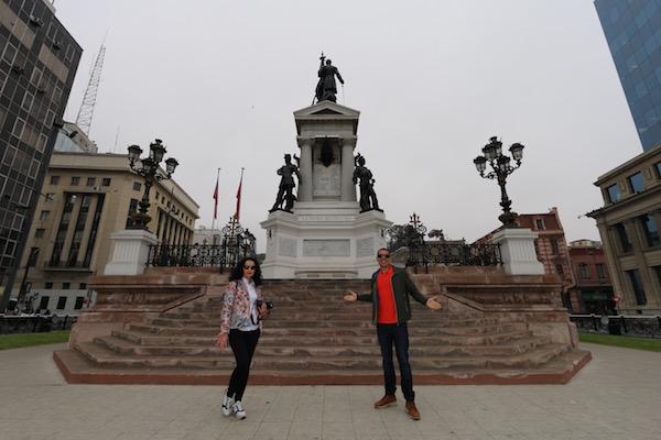 Monumento héroes de Iquique.