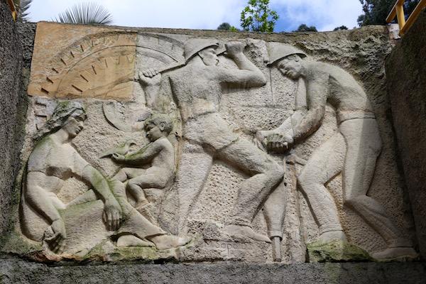 Mural homenaje mineros.