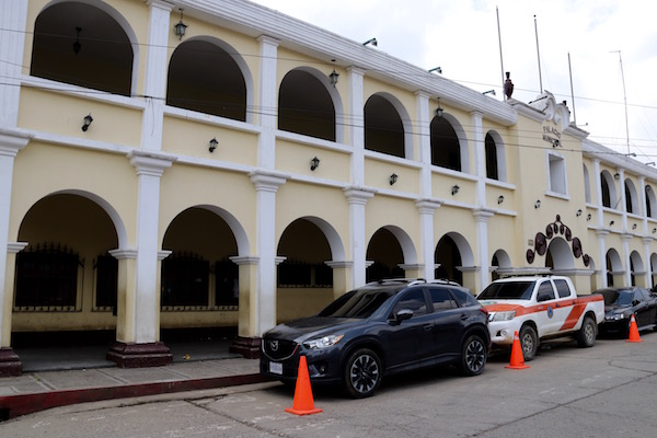 Palacio Municipal Tecpán.