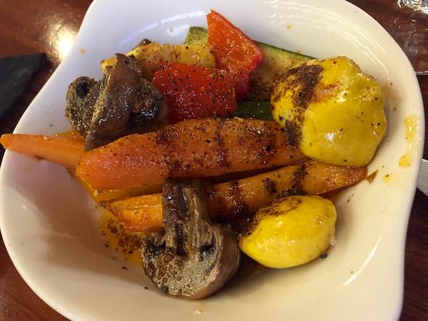 Restaurante Gracia Cocina de Autor, Vegetales