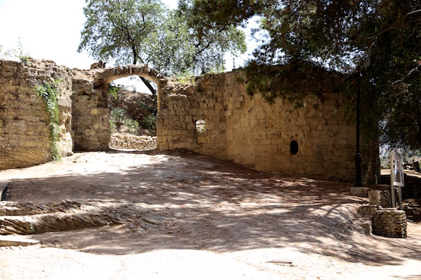 Restos fortaleza árabe, Montefrío.