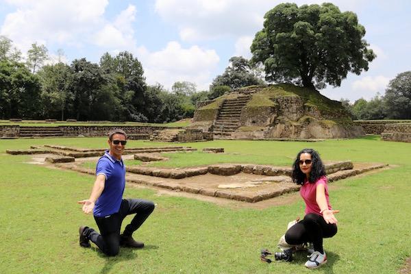 Ruinas del Parque Arqueológico Iximché.