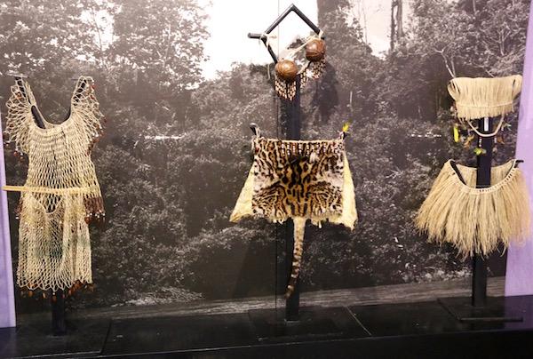 Trajes indígenas, Museo Etnográfico Mitad del Mundo.