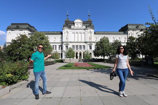 Edificio de la Galería Nacional Cuadrado 500.