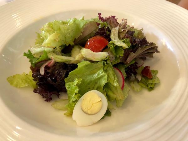 Ensalada, ristorante La Capannina.