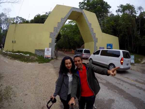 Entrada Parque Nacional Tikal.