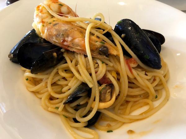 Espaguetis, ristorante La Capannina. ristorante La Capannina.