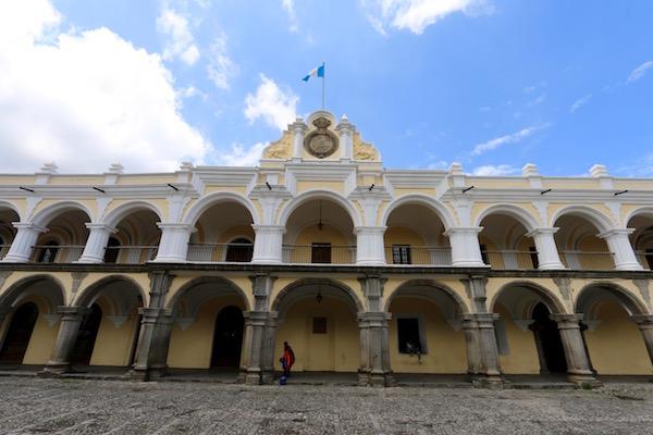 Fachada Palacio de los Capitanes.
