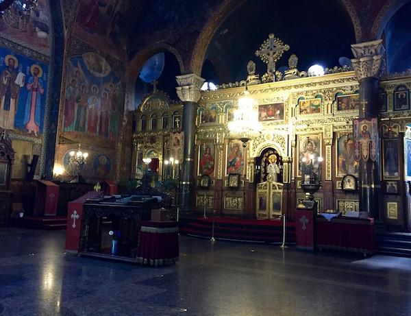 Interior Catedral de Sveta Nedelya.