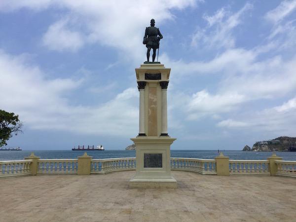 Monumento Rodrigo Bastidas.