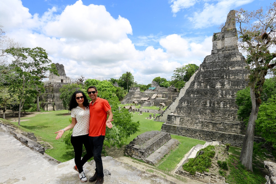 Parque Nacional Tikal, Guatemala.