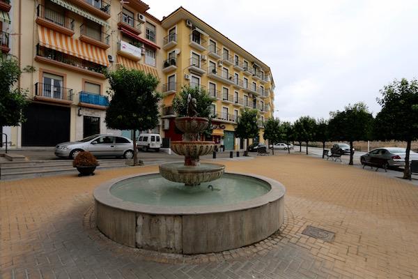 Plaza del General Narváez.