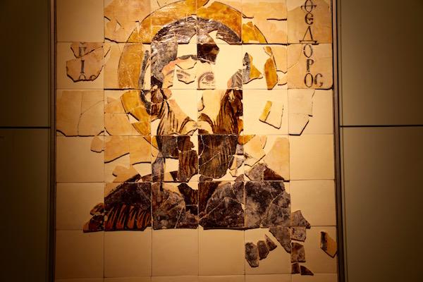 St. Theodore Icono de Preslav.