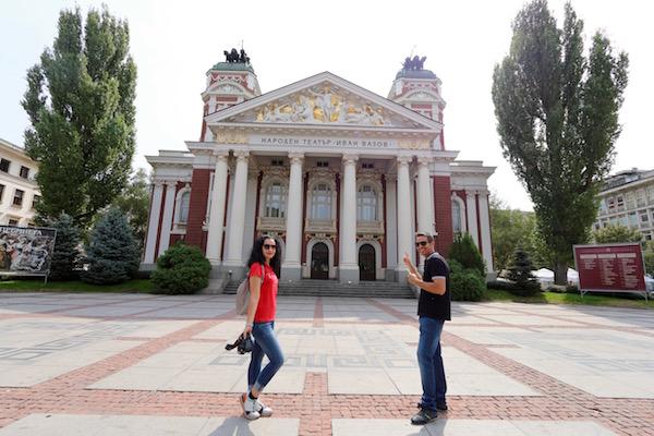 Teatro Nacional Ivan Vazov.