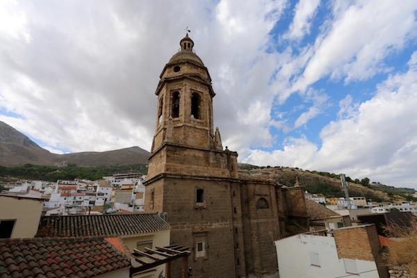 Torre campanario iglesia de la Encarnación.