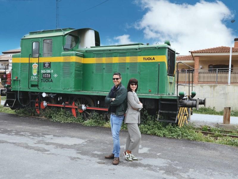Locomotora eléctrica 303-139-0, Tíjola, Almería.