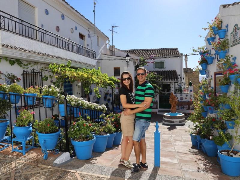 Patio de las Comedias, Iznájar, Córdoba.