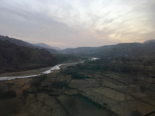 View from Shenzen to Xining train
