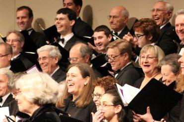 Chorus smiles!