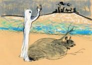 Omul de zapada care voia sa intalneasca soarele de Matei Visniec, ilustratii Andra Badulescu, Editura Arthur