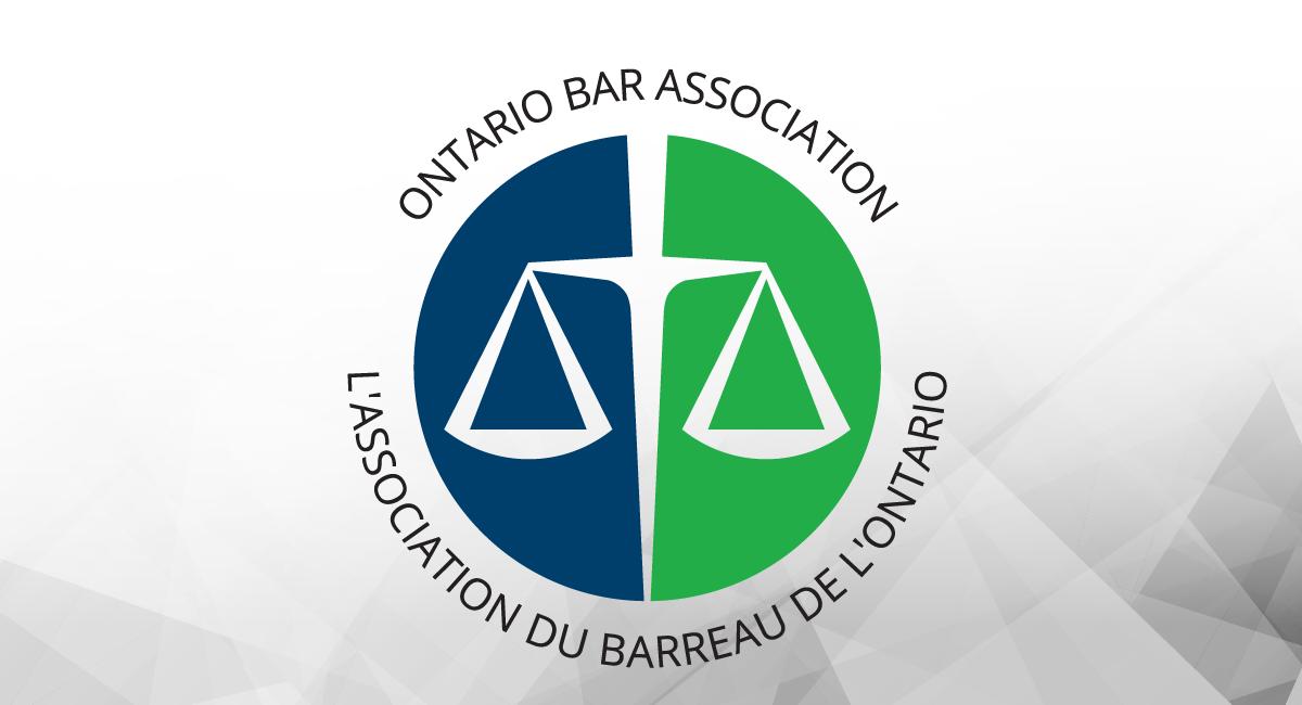 Ontario Bar Association Franchise Law