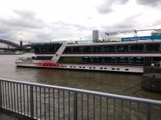 Die MS RheinEnergie, das Flaggschiff der KD