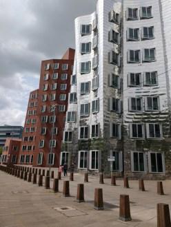 Moderne Architektur in Düsseldorf