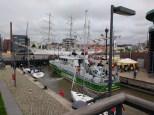 Schleuse zum Hafen